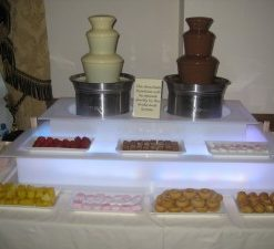 Chocolate fountain hire kent