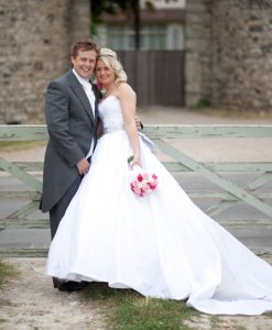 Wedding photography at Cooling Castle Barn