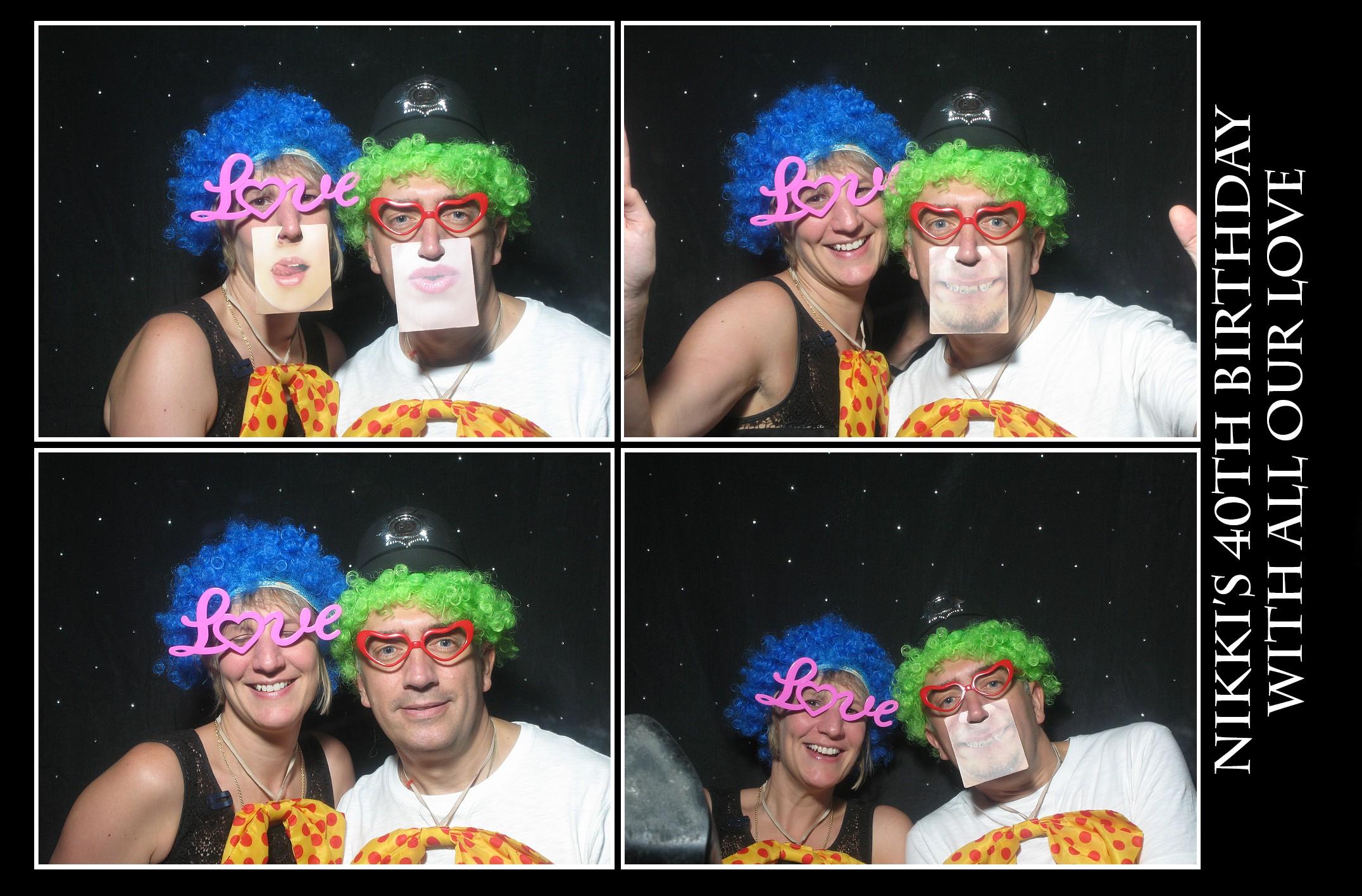 Photo booh hire at Westmarsh Village Hall