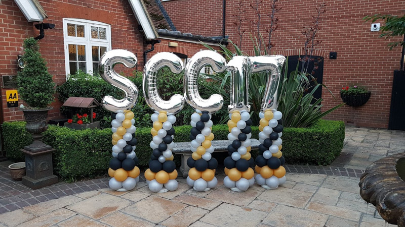 Balloons at Hempstead House Sittingbourne