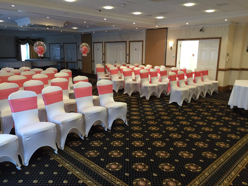 Chair cover hire Hempstead House Sittingbourne