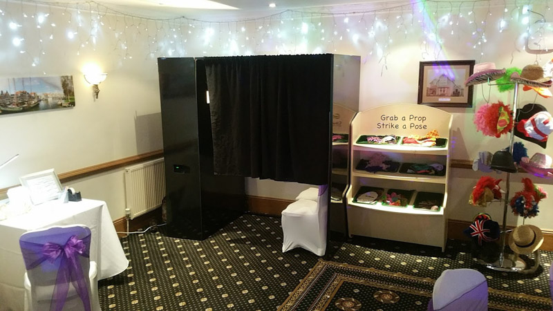 Photo booth at Hempstead House Sittingbourne 4