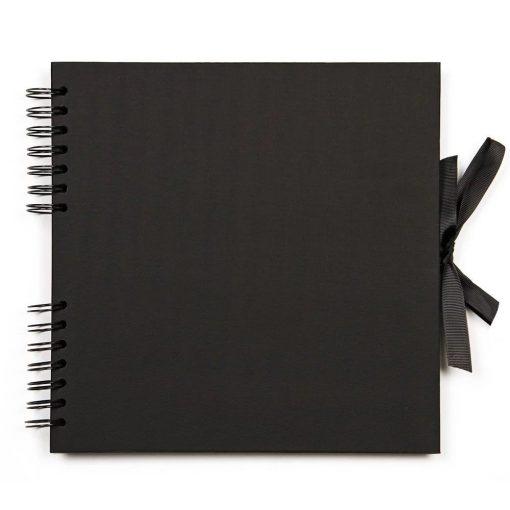 Black memory book