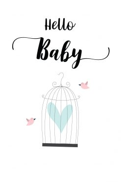 Baby Card Hello Baby