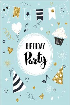 Happy Birthday Card Glitz Birthday Party
